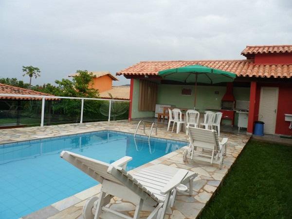 Rancho para aluguel ponta do sol 1 su te 3 quartos ref for Bar piscina lago jardin 1